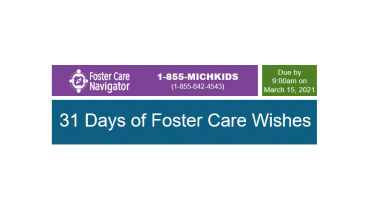 31 Days of Foster Care Wishes